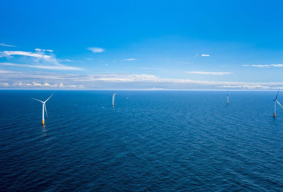 Equinor Hywind Scotland offshore wind farm