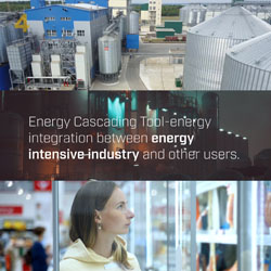 Energy Cascading Tool – energy integration between energy-intensive industry and other users