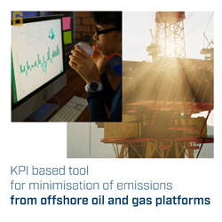 KPI-based tool for minimisation of emissions from offshore oil and gas platforms