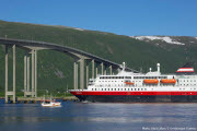 The Coastal Express departing from Tromsø, Norway - host city of the conference TRISTAN VII