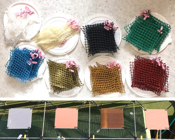 Net and panel samples