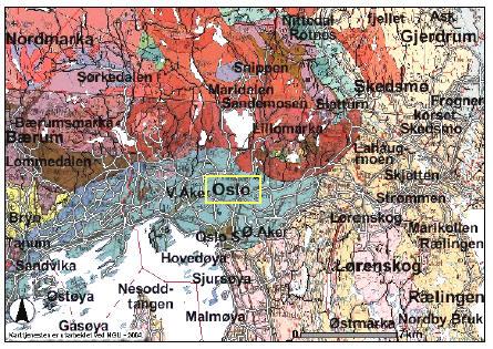 geologisk kart over oslo Grunnvarme geologisk kart over oslo