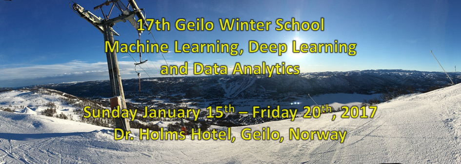 Geilo Winter School 2017