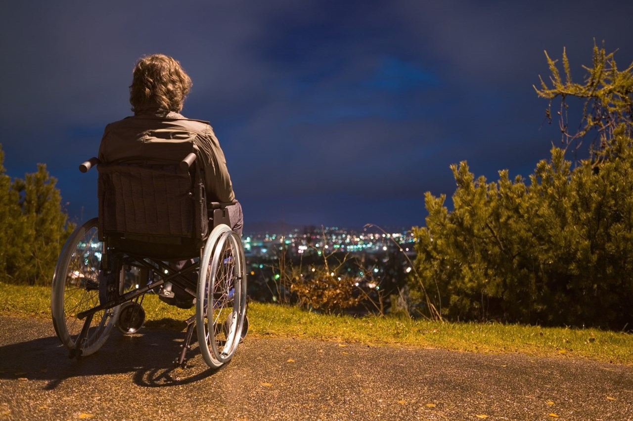 Disabled people are largely excluded from romantic life in spite of their having the same needs for love, romance and sex as everyone else.  Illustration photo: Thinkstock.