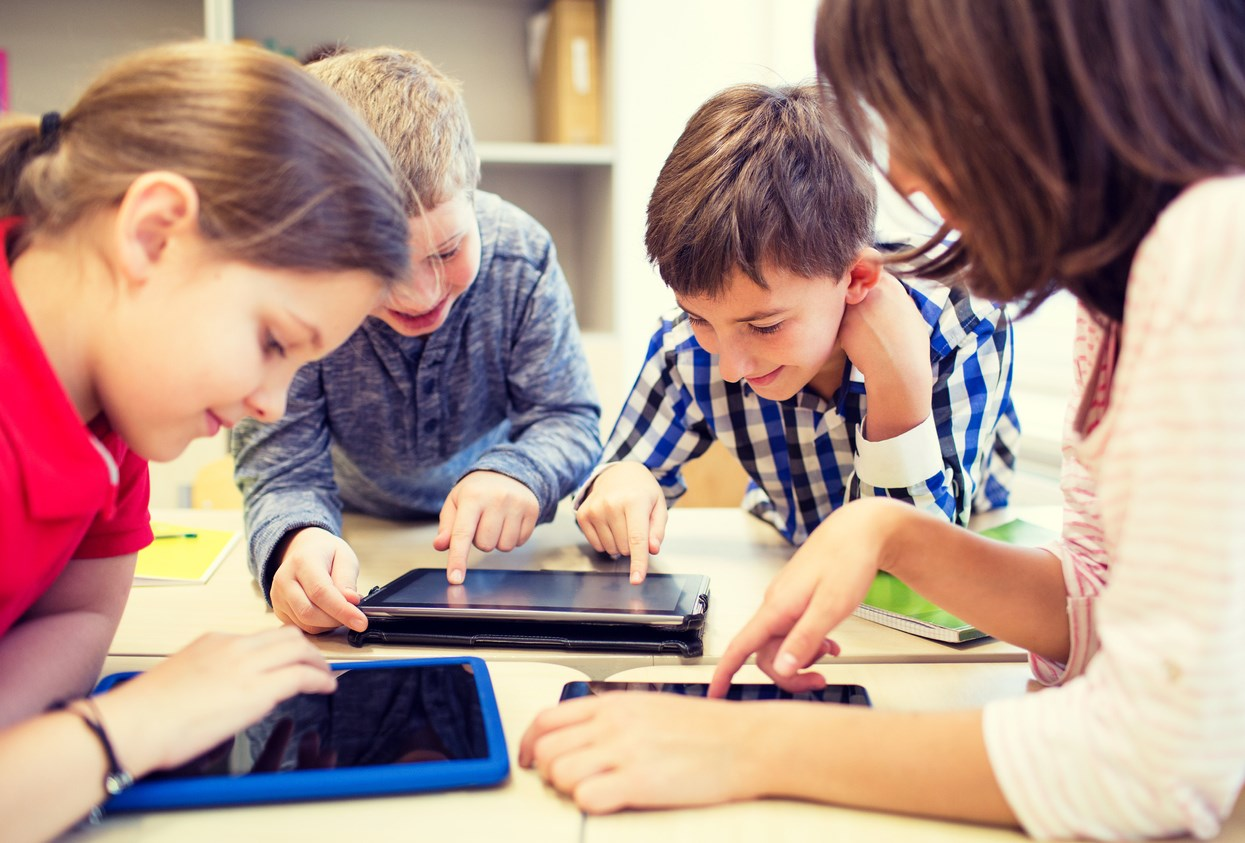 Only five per cent of year seven pupils are giving in to non-educational distractions on their computers, compared with twenty per cent just three years ago.  Photo: alxpin/iStoc